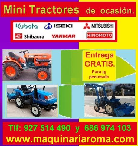 KUBOTA 7001. 4X4. 3 CILINDROS - CON PALA NUEVA DE DOBLE EFECTO