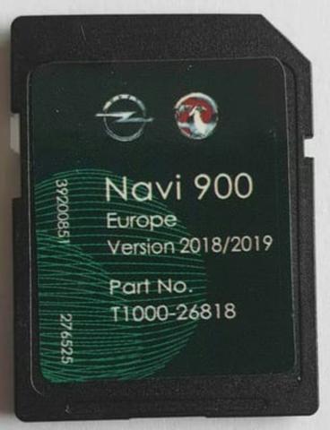MAPA GPS OPEL CHEVROLET EUROPA 2019 - foto 1