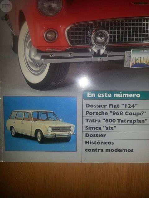 CLÁSICOS EXCLUSIVOS, REPORTAJE  FIAT 124.  - foto 2