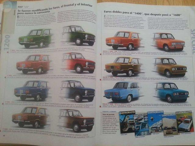 CLÁSICOS EXCLUSIVOS, REPORTAJE  FIAT 124.  - foto 3