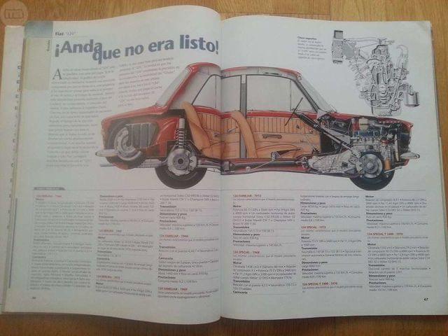 CLÁSICOS EXCLUSIVOS, REPORTAJE  FIAT 124.  - foto 5
