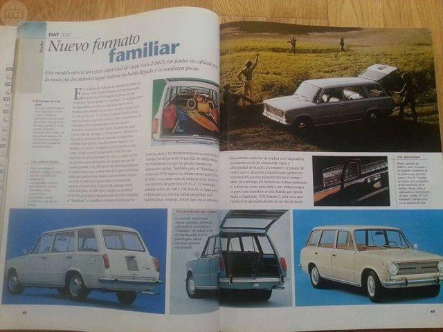 CLÁSICOS EXCLUSIVOS, REPORTAJE  FIAT 124.  - foto 6