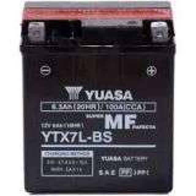 BATERIA MOTO ECONOMICA YTX7L-BS YUASA - foto 1