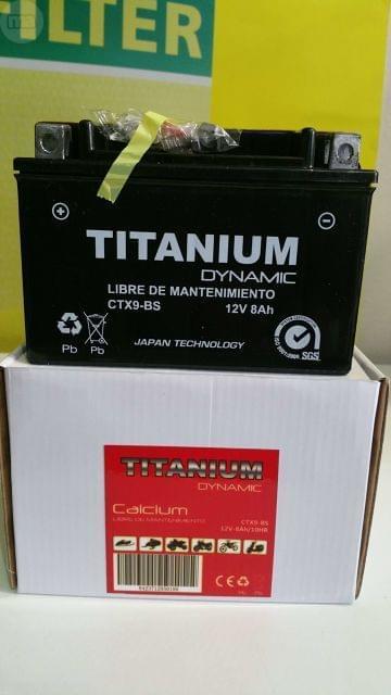 BATERIA MOTO ECONOMICA TITANIUM YTX9-BS - foto 1