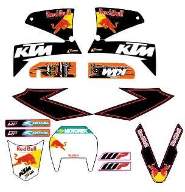KIT ADHESIVO DE KTM LC4 625-640-660 SMC - foto 3