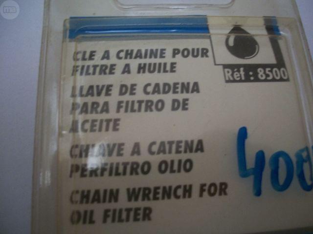 LLAVE DE CADENA PARA FILTRO COCHE - foto 8