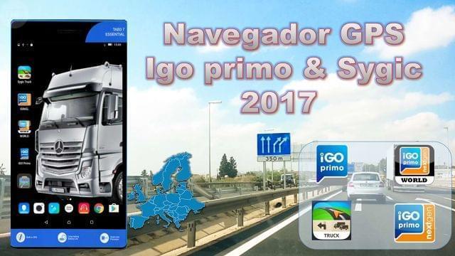 NAVEGADOR GPS IGO PRIMO SYGIC 2017