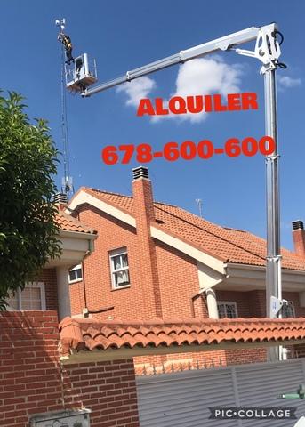 ALQUILER  PLATAFORMA ELEVADORA CAMION - foto 5