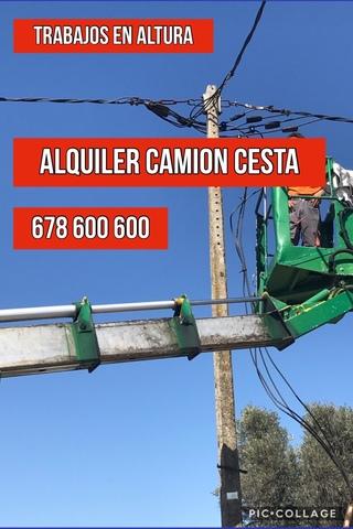 ALQUILER  PLATAFORMA ELEVADORA CAMION - foto 9