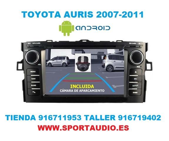 RADIO ANDROID DVD TOYOTA AURIS - foto 2