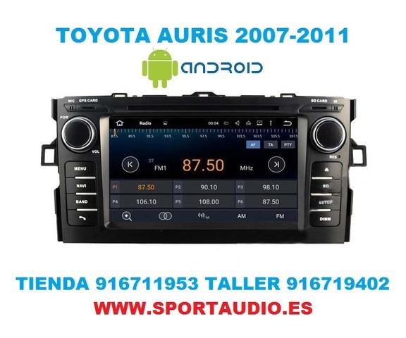 RADIO ANDROID DVD TOYOTA AURIS - foto 4