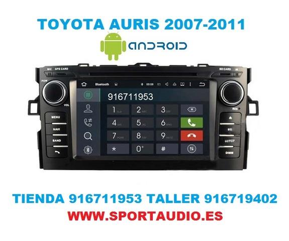 RADIO ANDROID DVD TOYOTA AURIS - foto 6