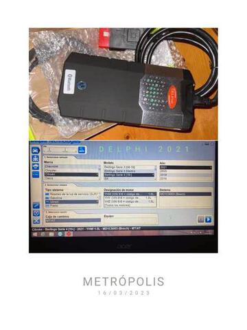 DIAGNOSIS DELPHI DS150E MULTIMARCA OBD2 - foto 1