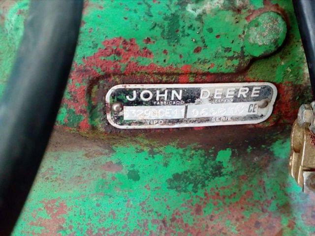 MOTOR JOHN DEERE 6 CILINDROS TIPO 5329D - foto 7