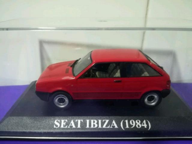IXO FISCHER 1//43 SEAT IBIZA ST RANCHERA AZUL BLUE AUTO EMOCION CONCESIONARIO
