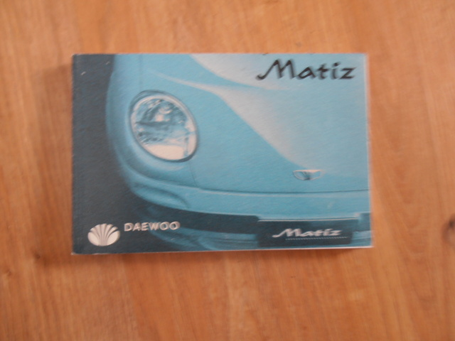 MANUALES DE USUARIO DEL DAEWOO MATIZ - foto 2