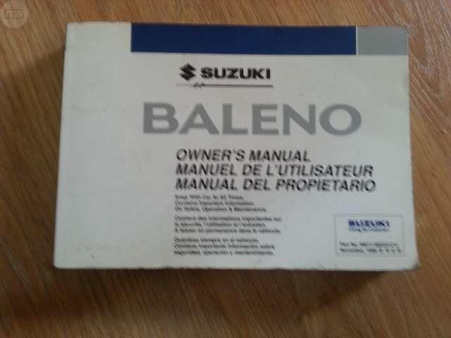 MANUAL DE USUARIO DEL SUZUKI BALENO - foto 1