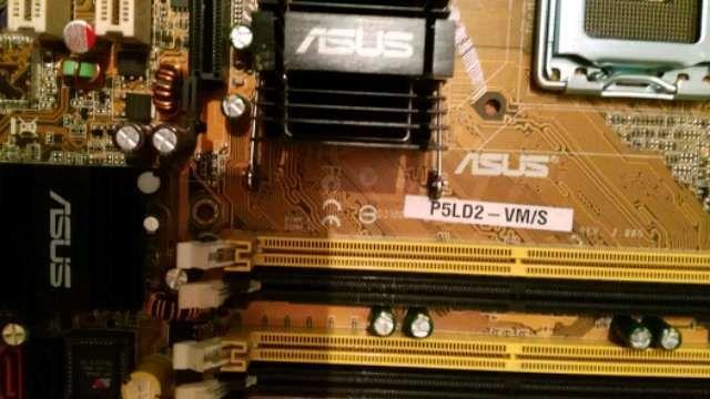 ASUS P5LD2/VMS 775 - foto 2