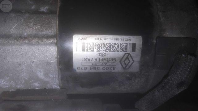 MOTOR ARRANQUE RENAULT 1. 5 DCI - foto 3