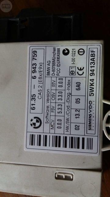 KIT DE ARRANQUE BMW SERIE 1 - foto 3