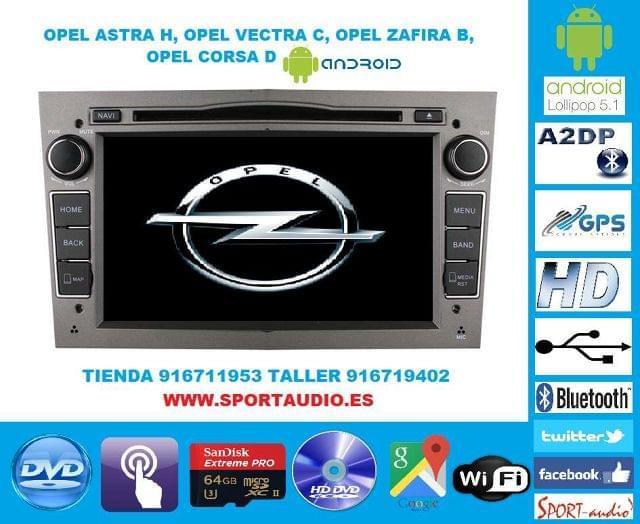 RADIO NAVEGADOR DVD OPEL CORSA D ANDROID - foto 1