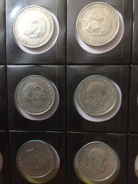 Monedas Plata Franco 100 Pesetas