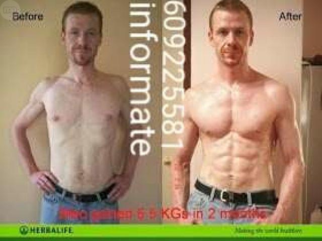 imagenes de perdida de peso y masa muscular