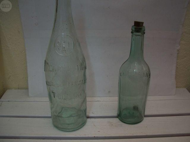 Botellas Agua Antiguas