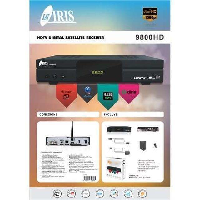 DECODIFICADORES IRIS HD 9800 DESDE 79