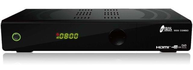 DECODIFICADORES IRIS HD 9800 NO CADUCA
