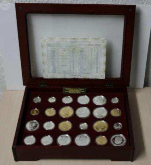 24 Monedas De Oro Y Plata