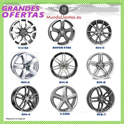 LLANTAS REPLICA AUDI BMW MERCEDES VW !!!