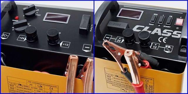 CARGADOR ARRANCADOR 12/24 V 75A/90A - foto 2