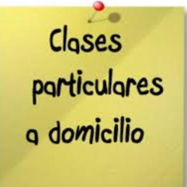 CLASES A DOMICILIO LENGUA INGLÉS Y MATES