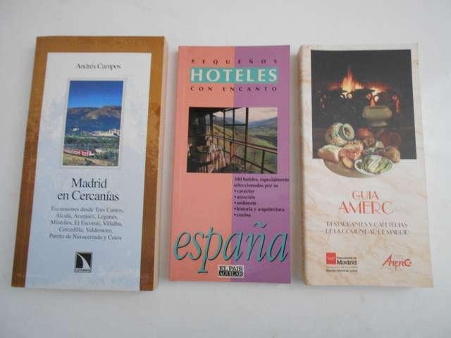 3 GUÍAS:  DE MADRID,  HOTELES Y GUÍA AMERC - foto 1