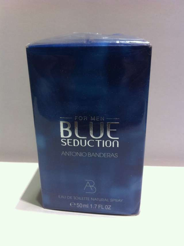 BLUE SEDUCTION ANTONIO BANDERAS COLONIA