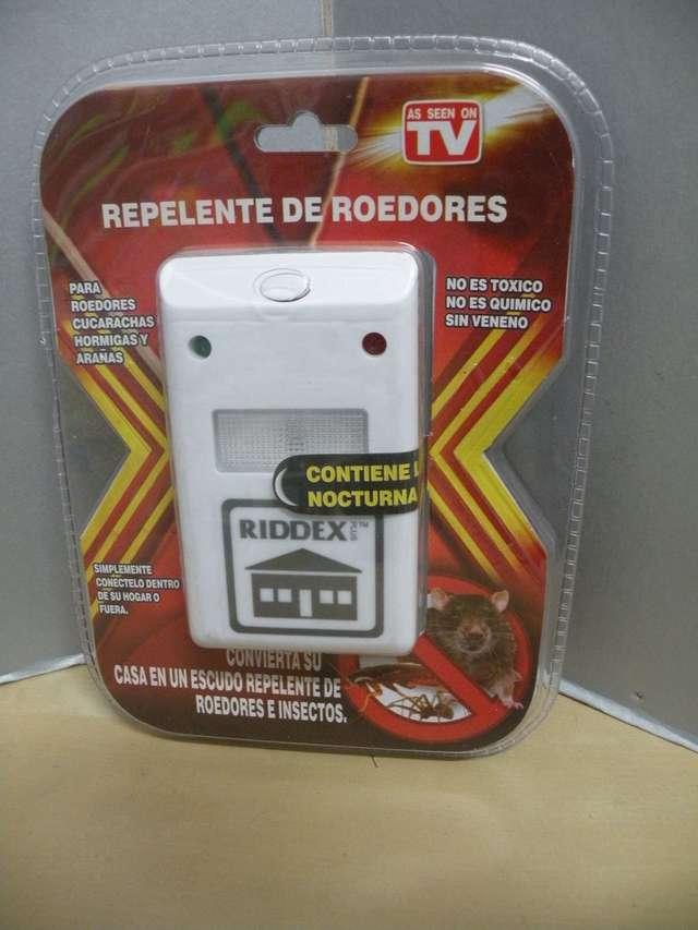 Repelente de Roedores lote de 4 unidades. Hormigas y Ara/ñas Cucarachas RIDDEX