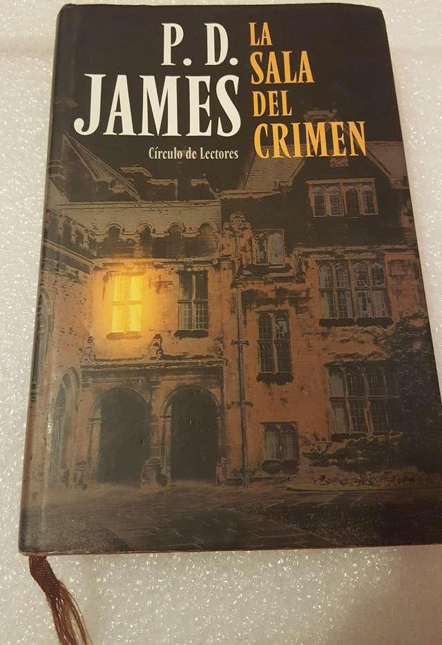 LA SALA DEL CRIMEN. P. D. JAMES.