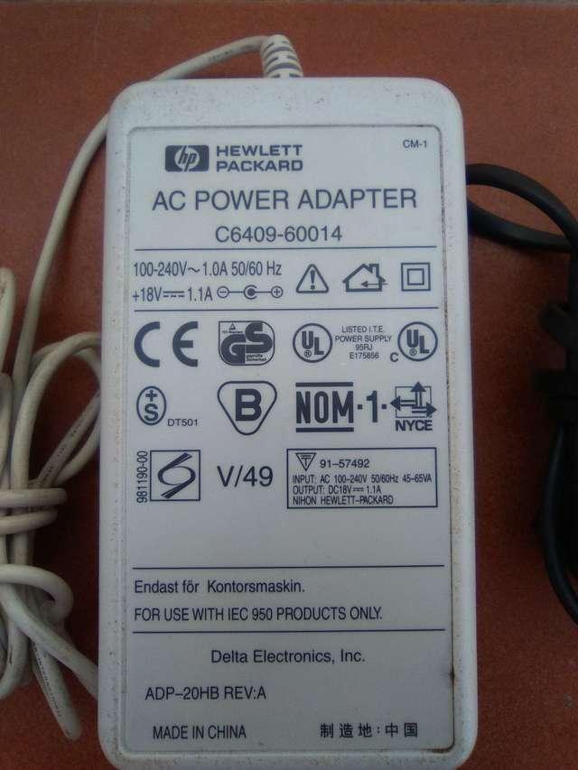 ADAPTADOR 18V HP 1. 1A - foto 3