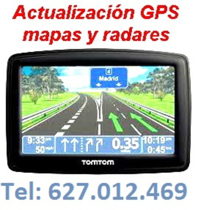 ACTUALIZO Y REPARO GPS (COCHE CAMIONES)