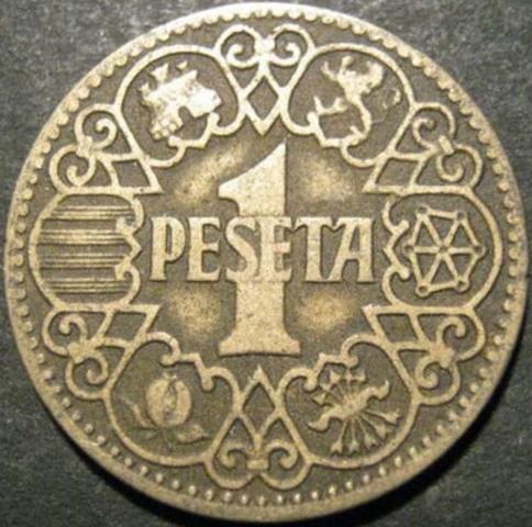 Pesetas 1937 Y 1944