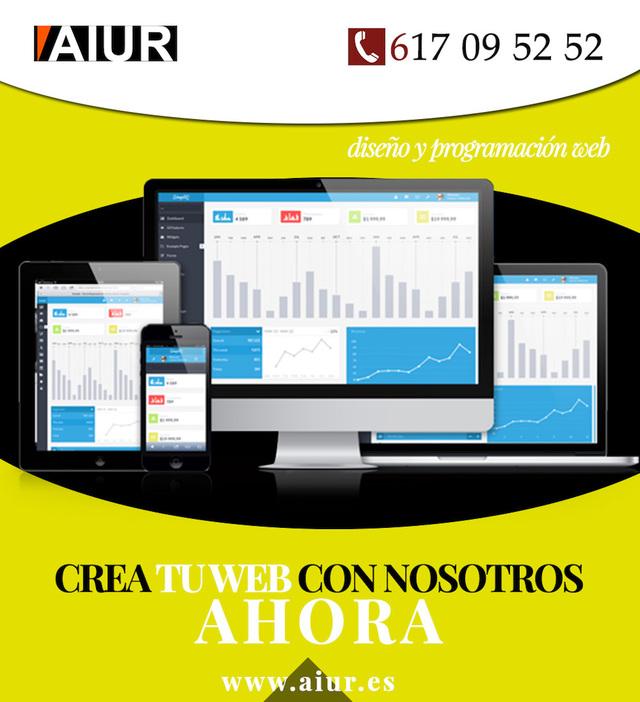 PROGRAMACIÓN PÁGINAS WEB PERSONALIZADO