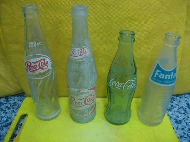 Botellas Antiguas Serigrafiadas