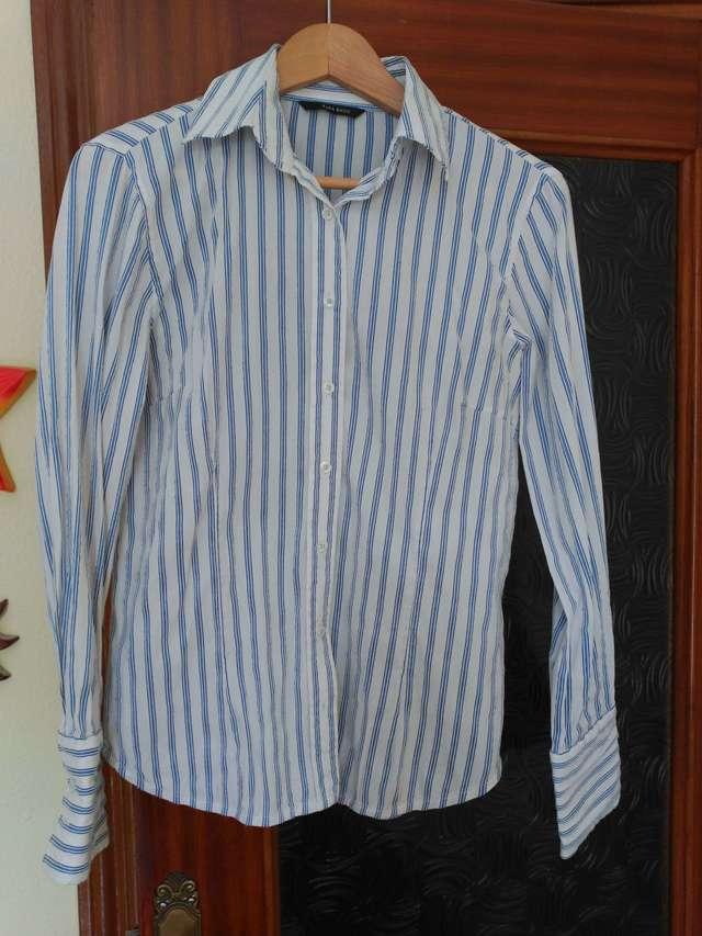 Camisa mirto mujer talla 46 usada una vez de segunda mano