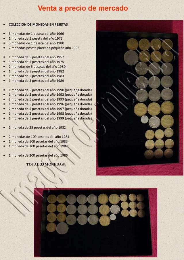 Colección De Monedas Pesetas