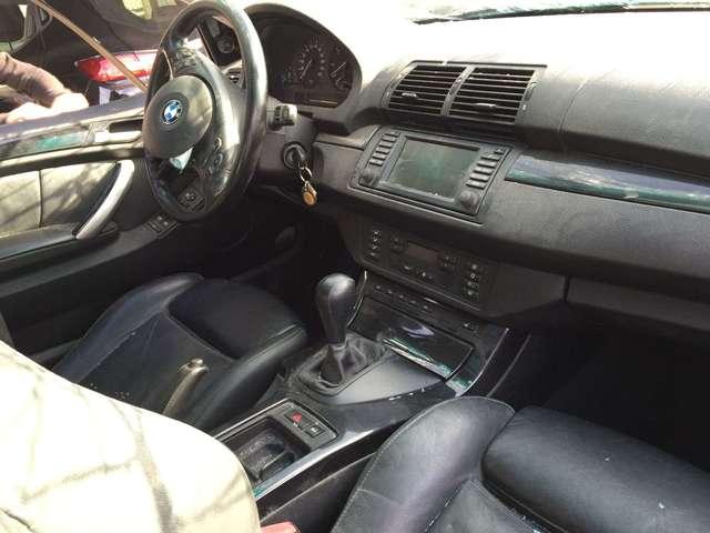 TAPICERIA CUERO NEGRO BMW X5 E53