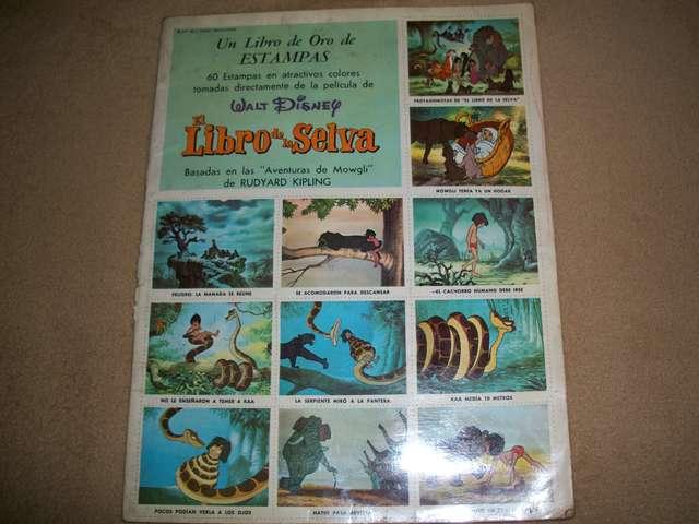 Album De Cromos El Libro De La Selva