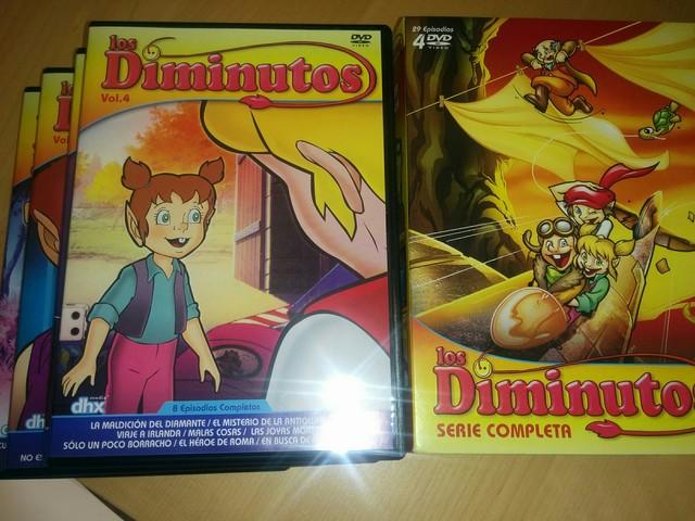 LOS DIMINUTOS, DIBUJOS ANIMADOS, AÑOS 80 - foto 1