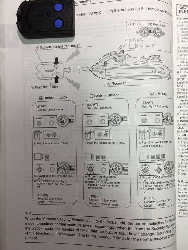 MIL ANUNCIOS COM - Mando sistema de seguridad Yamaha