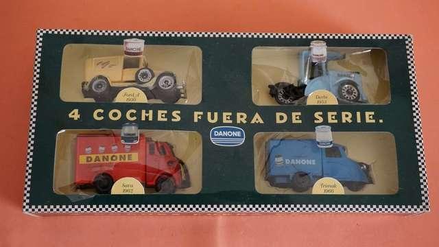 COLECCION DE COCHES CASA DANONE